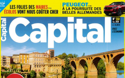 Indigo Piscines est dans la revue CAPITAL !